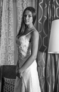 Panna Młoda w sukni